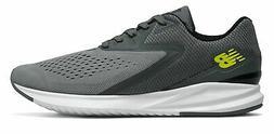 New Balance Men's Fuel Core Vizo Pro Run Shoes Grey with Yel