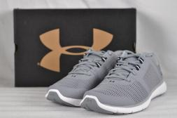 Men's Under Armour Fuse FST Running Shoes Grey/White