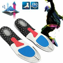 Men's Gel Orthotic Sport Running Insoles Insert Shoe Pad Arc