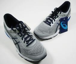 Men's ASICS GT-1000 6 Running Shoes, Size 11, Gray/Blue - T7