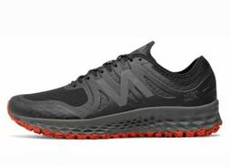 New Balance Men's Kaymin Trail Shoes Black with Red size 8