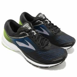Men's Brooks Launch 5 Running Shoes Black / Blue / Green Sz