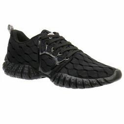 ALEADER Men's Mesh Cross-Traning Running Shoes CarbonBlack 1