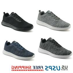 Men's Mesh Lightweight Breathable Sneakers Sports Running Wa
