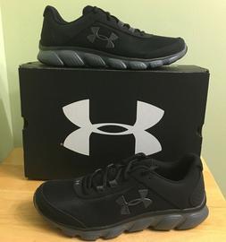 Under Armour Men's Micro G Assert 7 Running Shoes Black/Grey