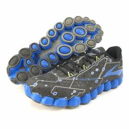 Brooks Men's Neuro Metallic Charcoal Electric Blue Running S