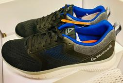 ,Reebok Men's Prime Runner PT 3.0 Black Navy Blue Running Sh