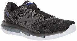 New Balance Men's Rubix V1 Running Shoe, Black/Steel, Size 1