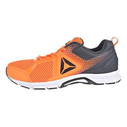 Reebok Men's Runner 2.0 MT Running Shoe, solar orange/coal,