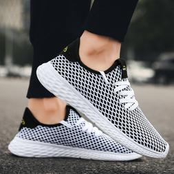 Men's Running Shoes Fly-knit Sneakers Lightweight Athletic T