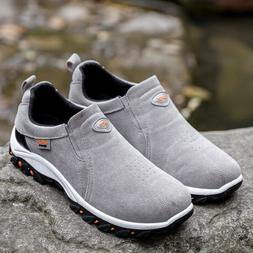 Men's Slip On Sports Outdoor Sneakers Running Walking Hiking