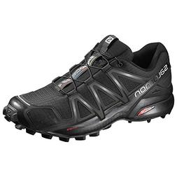 Salomon Men's Speedcross 4 Trail Runner, Black A1U8, 12 M US