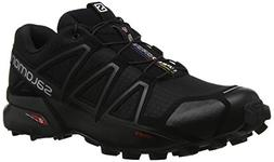 Salomon Men's Speedcross 4 Trail Runner, Black A1U8, 11 M US