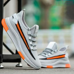 Men's Outdoor Sports Sneakers Breathable Running Jogging Cas