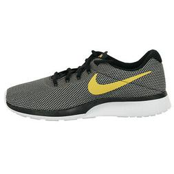 Nike Men's Tanjun Racer Running Shoes Black/Wheat Gold/White