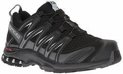 Salomon Men's XA Pro 3D Trail Running Shoe, Black, 7.5 Wide