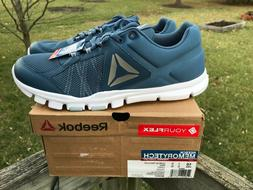 Reebok Men's Yourflex Train 9.0 MT Running Shoes Blue/Grey/W