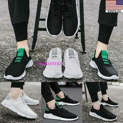 Men Sport Trail Running Shoes Athletic Sneakers Mesh Breatha