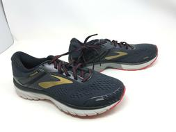 Mens Brooks Adrenaline GTS 18 Black/Red/Gold Running Shoes