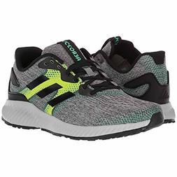 Mens Adidas Aerobounce Black Green Running Athletic Sport Sh