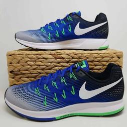 Nike Mens Air Zoom Pegasus 33 Running Shoes Blue 831352-008