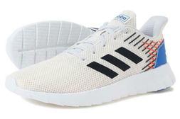 Mens Adidas Asweerun Off White Running Sneaker Athletic Shoe