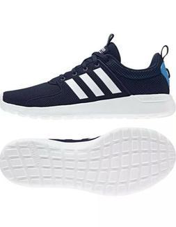 Men's Adidas CF Lite Racer Training Running Shoes Blue Whi