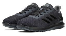 Mens Adidas Cosmic 2 All Black Running Athletic Sport Shoes