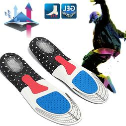 Men Support Cushion Gel Orthotic Sport Running Insoles Inser