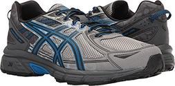 mens gel venture 6 running shoe aluminum