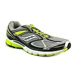 Saucony Mens Guide 7 Silver Running, Cross Training Shoes 10