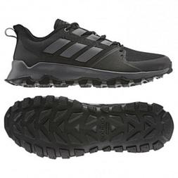 Mens Adidas Kanadia Trail Black Sport Athletic Running Shoes