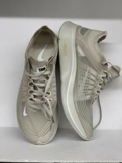 Mens Nike Lab Zoom Fly SP Running Shoes sz 11.5 Bone White $