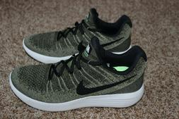 Mens Nike Lunarepic Low Flyknit 2 Shoes Size 10  Green $160