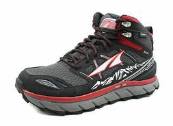 Altra Mens Red Lone Peak 3 Mid Neoshell Trail Running Shoes