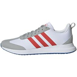 Mens Adidas Run 60s White Red Sneaker Running Athletic Shoes