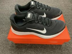 NIKE MENS RUNALLDAY RUNNING SHOES BLACK/WHITE