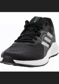 Adidas Mens Size 9.5 Black Silver Aerobounce 2 M Running Sho