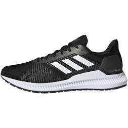 Mens Adidas Solar Blaze Black Athletic Running Sport Shoes G