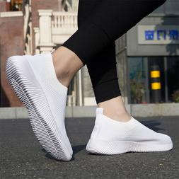 Mens Womens Trainers Sports Shoes Fitness Mesh Gym Sneakers