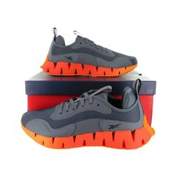 Reebok Mens Zig Dynamica Int Grey Running Shoes  Size 8-12