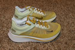 Mens Nike Zoom Fly SP Running Shoes Size 10 Dark Citron $150