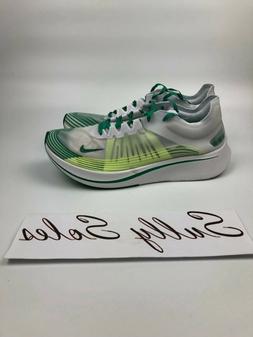 Nike Men's Zoom Fly Sp Running Shoes White Green