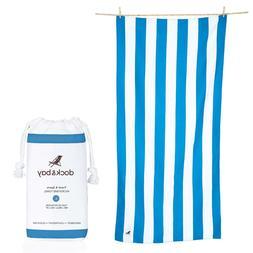 Dock & Bay Microfiber Towel - Beach & Travel  - Huge & Compa