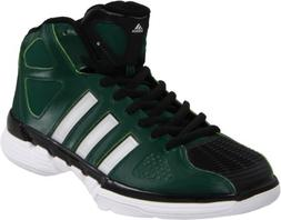 adidas Men's Pro Model Zero Basketball Shoe,Forest/Running W