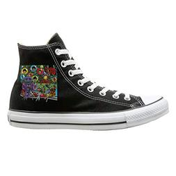 Shoes The Monkees Unisex High-Top Classic Canvas Sneakers Fa