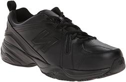 New Balance Men's MX608v4 Training Shoe, Black, 14 D US