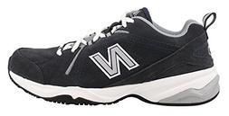 New Balance Men's MX608v4 Training Shoe, Navy/Grey, 12.5 D U