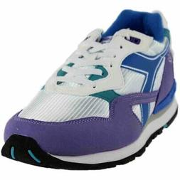 Diadora N-92 Running Shoes - Purple;White - Mens