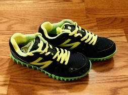 New Balance NB Black Green Neon Running  Shoes Big Kids Boys